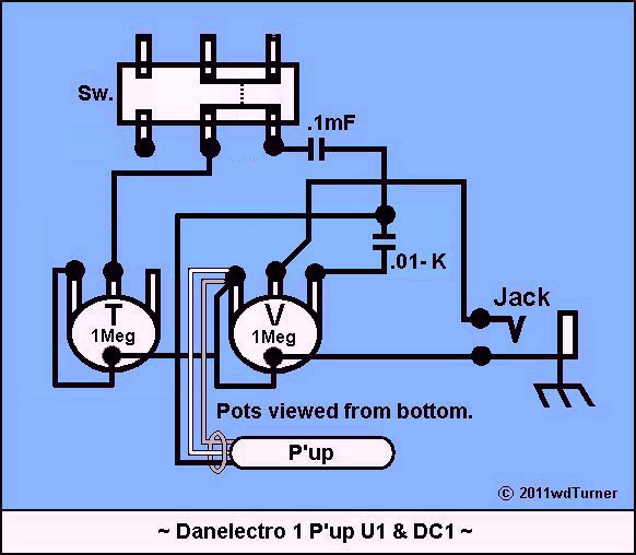 danoguitarschematics1 Phaser Schematic (uf \u003d mf \u003d microfarad)